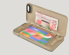Case Cover For Apple Iphone 6S  Credit Card and Cash Holder Wallet