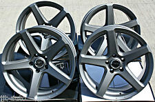 "18"" PDW C SPEC RATED ALLOY WHEELS FIT VW T5 T6 T28 T30 R32 COMMERCIAL RATED"