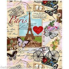 Timeless Treasures - Paris Valentine in Antique , cotton fabric F/Q or YRD