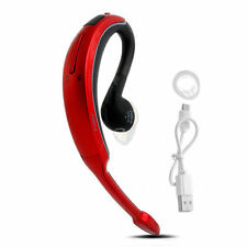 GENUINE RED WAVE+ WIRELESS BLUETOOTH OVER EAR HANDSFREE HEADSET IPHONE ANDROID