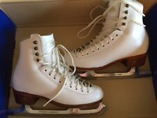 Figure Skates:  Riedell 320W Boot with Paramount 1085 Pattern 99 Blades
