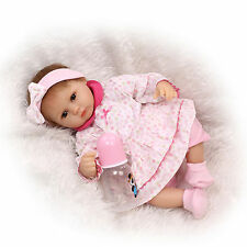 "16"" realistic reborn baby doll silicone vinyl soft gentle touch lifelike premmie"