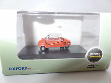 Oxford 76MBC001 MBC001 1/76 OO Messerschmitt KR200 Bubble Car Rouge Red Sarde