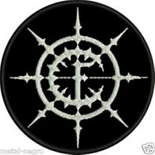 CARPATHIAN FOREST EMBROIDERED PATCH BLACK CRADLE OF FILTH EMPEROR Metal Negro