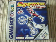GAMEBOY COLOR/ ADVANCE SUPERCROSS FREESTYLE MOTOCROSS EN BUEN ESTADO