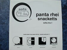 "Panta Rhei - Snacketts. 12"" Vinyl single (12s690)"