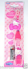 Hello Kitty Kids Girl Turbo Power Battery Powered Toothbrush Age 2-6years