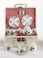 Children's Porcelain Tea Set for 2-Lady Bug #8049-4