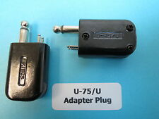 U-75/U Kings Electronics Military Aviation Pilot Helmet Headset Adapter NOS 2 ea