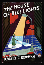 Robert J. Bowman, The House of Blue Lights, St. Martin's, 1987-1st/1st Inscribed