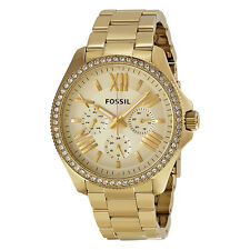 Fossil Cecile Multifunction Gold-tone Ladies Watch AM4482