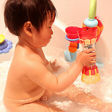 Baby Toddler Kids Bathing Swim Toy Water Whirly Wand Cup DIY Play Bath Toys Gift