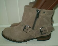 DV by Dolce Vita Sabina Moto Boot Taupe Suede Size 6 NWOB