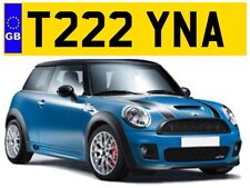 T222 YNA CHRISSY CHRISTINA TINA TINAS TIN CHRISTINAS PRIVATE NUMBER PLATE MINI