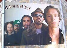 INCUBUS promo poster 28 x 19 original