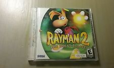 RAYMAN 2 THE GREAT ESCAPE SEGA DREAMCAST COMPLETE  - TESTED