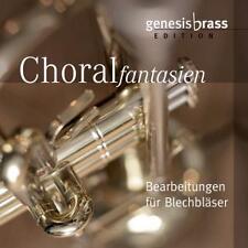 Genesis Brass - Choralfantasien - Bearbeitungen für Blechbläser - CD