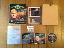 Star Trek Hidden Evil PC Big Box boite carton FR 1999