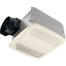 Broan QTXE110S Humidity Sensing Vent Fan, White Grille, 110 CFM, Energy Star