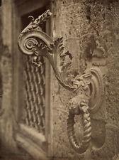 Photo Albuminé Italie Siena Sienne Italia Porte Vers 1880