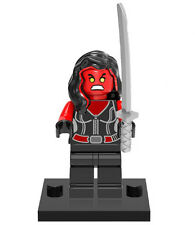 She-Hulk Red Minifigure Fits Lego