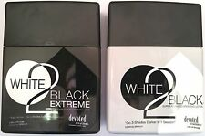 Lot of 2 Devoted Creations White 2 To Black Extreme & Bronzer Tanning Lotion