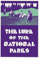 WPA Serigraph National Park Poster-The Lure of N Parks