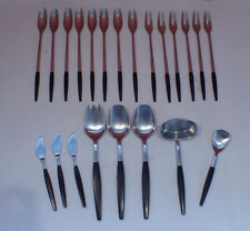 Gense FOCUS DELUXE 22 Piece Flatware Set SWEDEN 18/8 Stainless RARE Serve Fondue