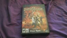DUNGEON SIEGE II RPG PC CD ROM VIDEO GAME COMPLETE WITH KEY