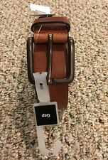 Gap  Belt Men's  Brown Genuine Leather Belt Size 40-new With Tags