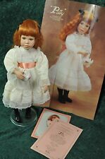 Polly Porcelain Doll First issue by Susan Krey for Edwin M. Knowles China 1990