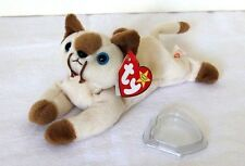 Ty Beanie Babies-Snip The Siamese Cat-Mint Condition-1996 P.E. Retired -Plush