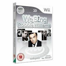 Nintendo wii jeu we sing robbie williams neuf