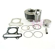 GY6 10cc 50mm Big Bore Cylinder Piston Kit 4 Stroke Chinese Scooter QMB139