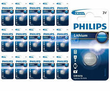 16 x PHILIPS cr1616 3v BATTERIA AL LITIO BOTTONE moneta cella dl1616 Per Auto Portachiavi