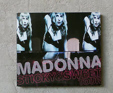 "CD AUDIO INT/ MADONNA ""STICKY & SWEET TOUR"" (CD/DVD DIGIPACK) 2010 WARNER BROS."