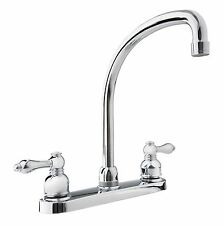 Dura Faucet Hi-Arc RV Kitchen Faucet for Travel Trailers, RVs, 5th Wheels