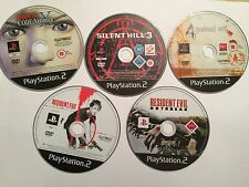 5 Playstation 2 Jeux PS2 Resident Evil Code Veronica X +3 +4 + Outbreak Dead Aim