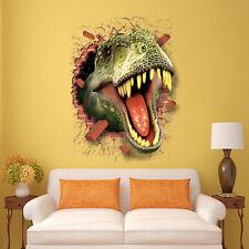 Wandtattoo Wandbild Wandaufkleber Kinderzimmer Dinosaurier Sticker Neu
