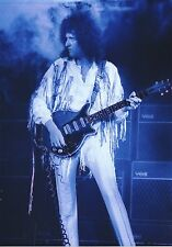 QUEEN BRIAN MAY PHOTO LIVE AID 1985 UNRELEASED GEM  WEMBLEY HUGE 12 INCH TINTED