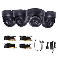 4PCS CCTV Cmos 1300TVL Security Camera 4 Cables for Home CCTV Security System