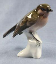 zaunkönig rosenthal figur Vogelfigur porzellanfigur vogel figurine porzellan v