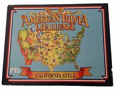 VTG The Great American Trivia Challenge California Style by Pepsi & Apple 1986