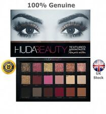 HUDA BEAUTY TEXTURED EYE SHADOWS PALETTE ROSE GOLD EDITION