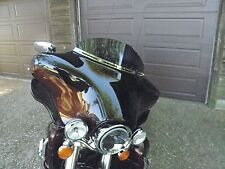 "Harley 6"" Dark Tint Windshield Touring Electra Glide Ultra Classic Batwing 96-13"