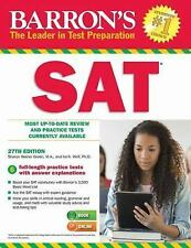 NEW - Barron's SAT, 27th Edition (Barron's Sat (Book Only))