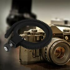 Hot Adjustable Flexible Lens Gear Ring Belt Follow Focus for DSLR Camera EA