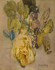 Mackintosh Rennie Charles Winter Rose Print 11 x 14  #4980