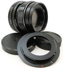 KMZ Russian LOGO HELIOS 44m-4 Lens Canon EOS EF Mount 5D 6D 7D MARK II III 44-2