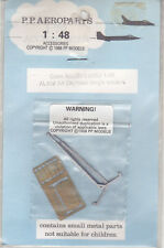 P.P AEROPARTS AL402 - PHOTO-ETCHED CREW ACCESS LADDER A4 SKYHAWK SEATERS 1/48